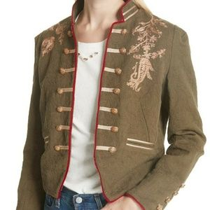 New Free People Embroidered Lauren Band Jacket